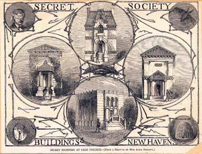 Psi Upsilon Secret Society Buildings New Haven