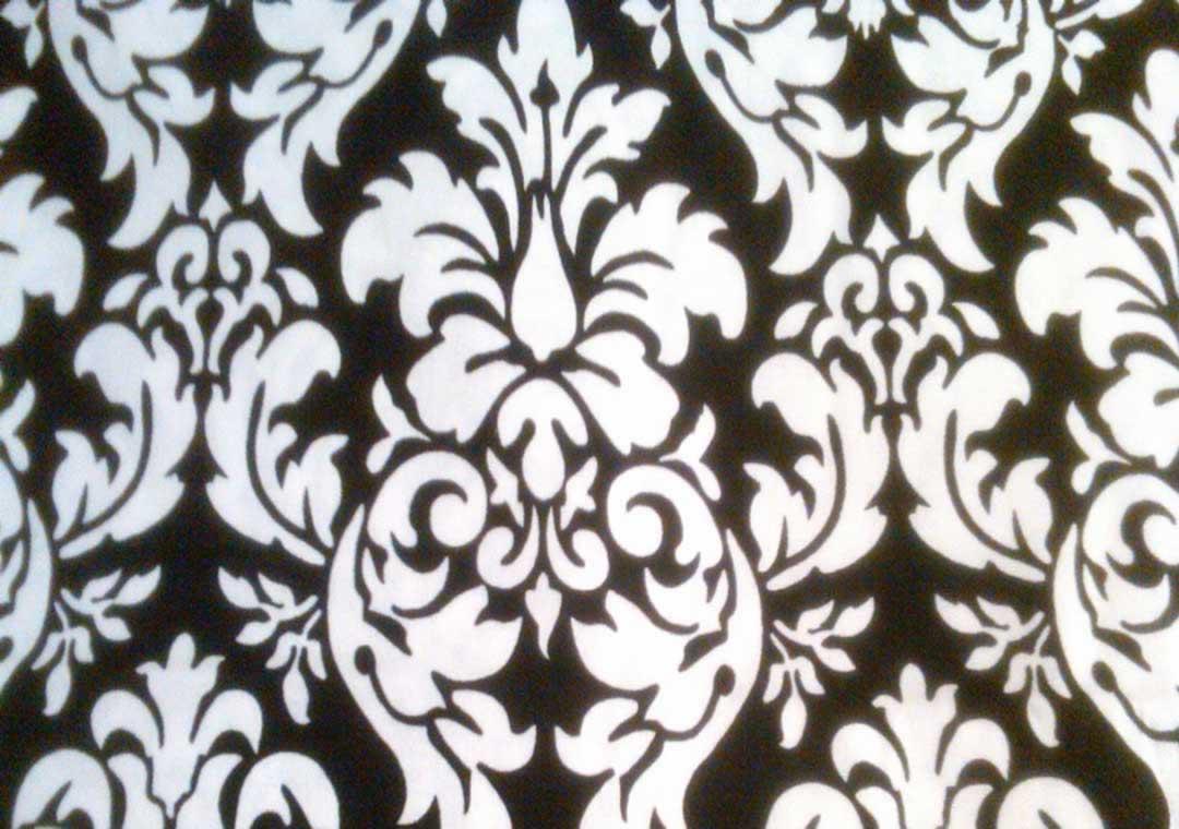 Black & White Damask