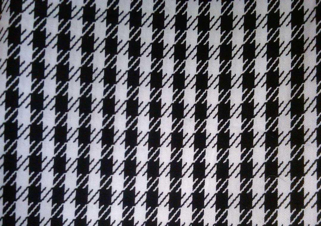Black & White Houndstooth