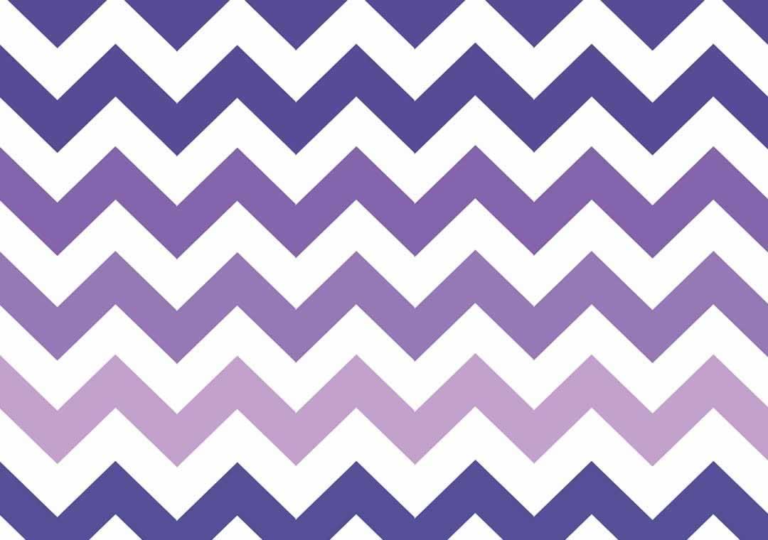 Purple-Ombre Chevron