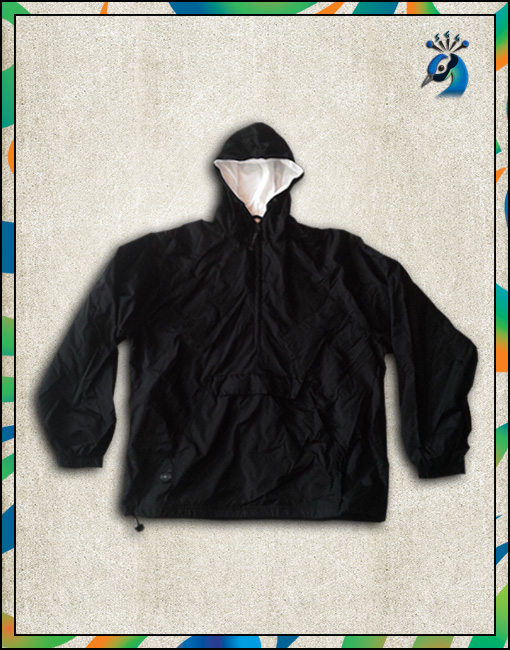 Solid Insulated Rain Jacket (Front)