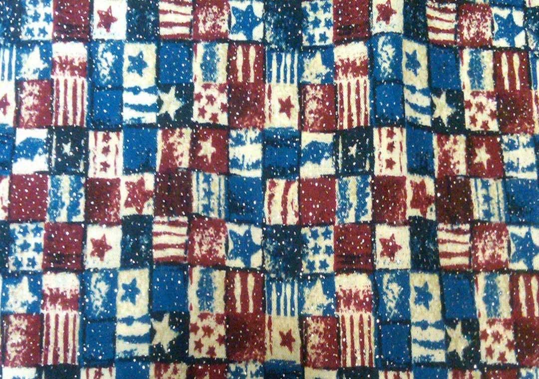Sparkle Patriotic Patchwork