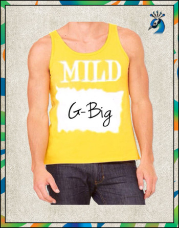 Family Saucy Tank Top (Yellow)