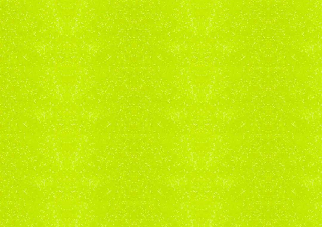 Fluorescent Yellow Glitter