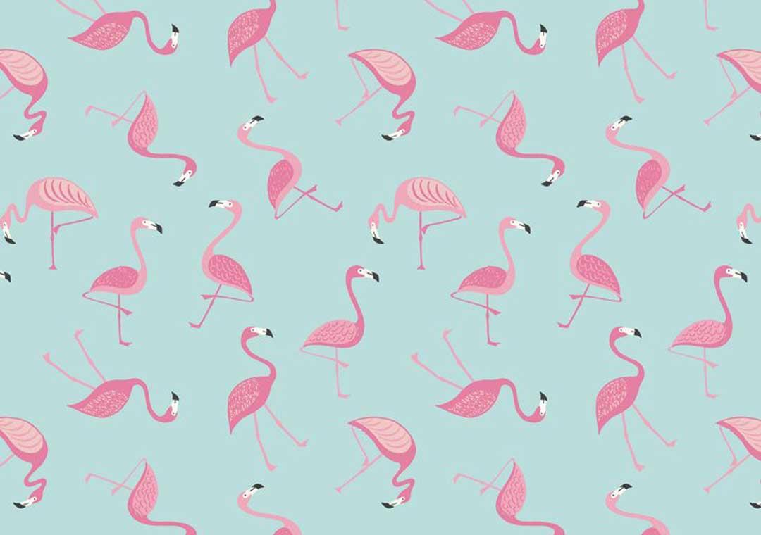 Tropicana Flamingo Aqua