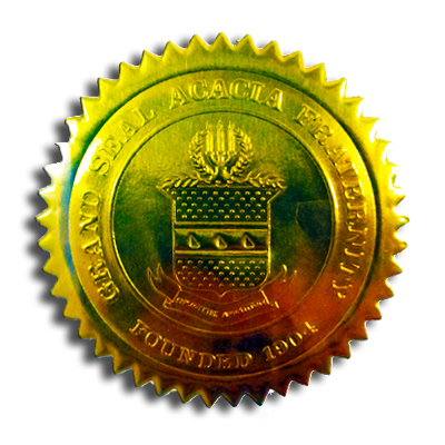 Acacia (fraternity) Seal