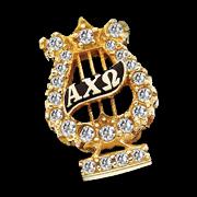 Alpha Chi Omega Badge