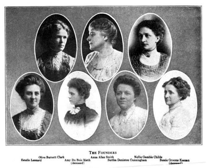 Alpha Chi Omega - The Founders