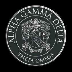 Alpha Gamma Delta Badge - Seal (Mockup)
