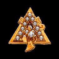 Alpha Gamma Delta Badge