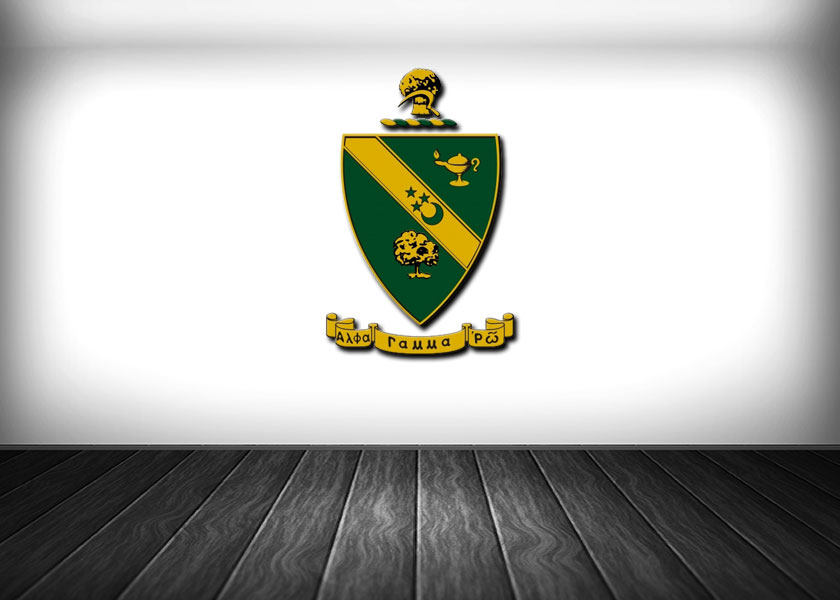 Alpha Gamma Rho  Coat of Arms