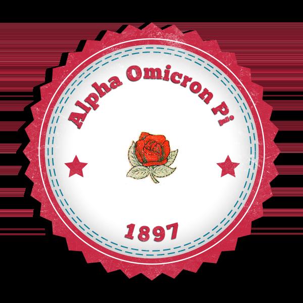 Alpha Omicron Pi Seal (Mockup)
