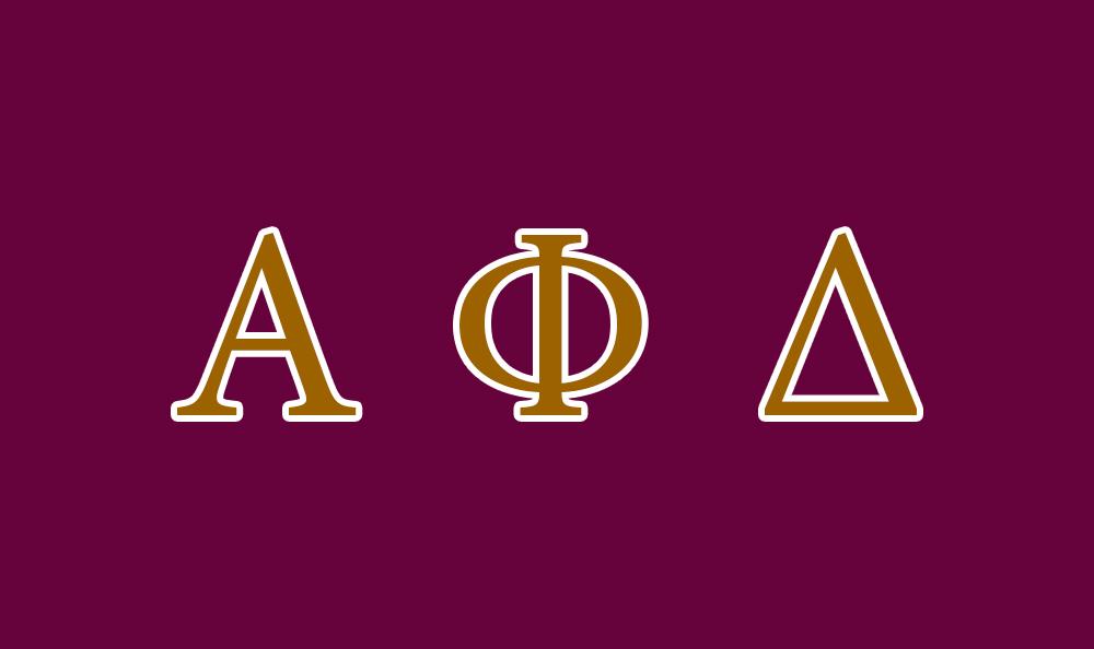 Alpha Phi Delta Flag