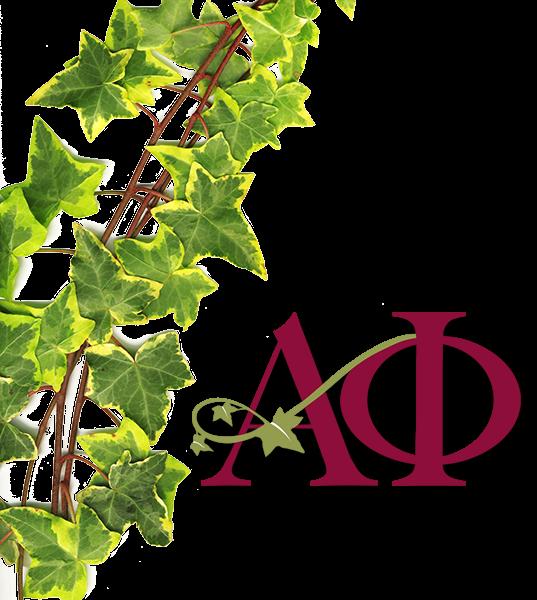 Alpha Phi Symbol - Ivy