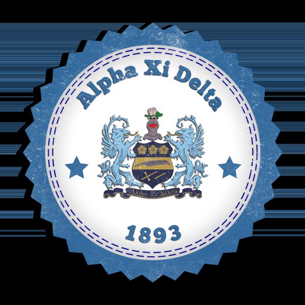 Alpha Xi Delta Seal - (Mockup)