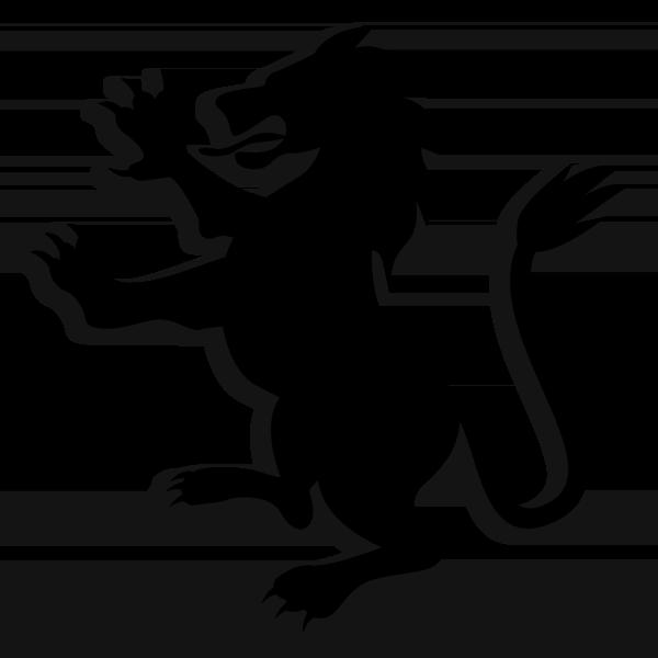 Beta Chi Theta Symbol - Rampant Lion