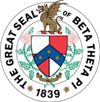 The Great Beta Theta Pi Seal