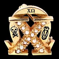 Chi Omega Badge