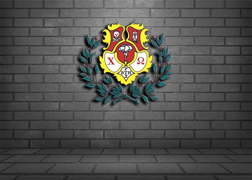Chi Omega Coat of Arms