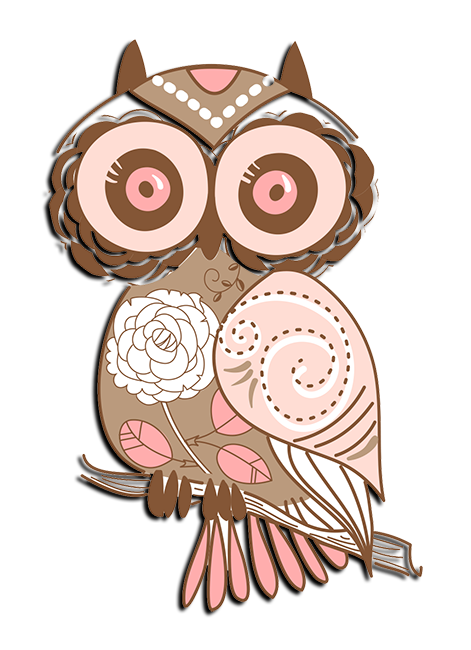 Chi Omega Mascot - Owl