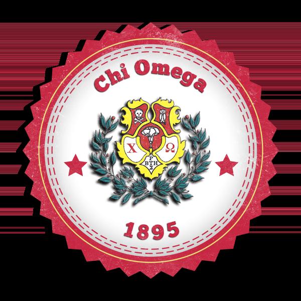 Chi Omega Seal - (Mockup)