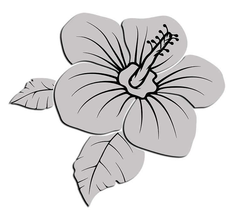 Delta Alpha Theta Flower - White Lilly