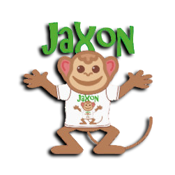 Delta Alpha Theta Mascot - Jaxon the Monkey