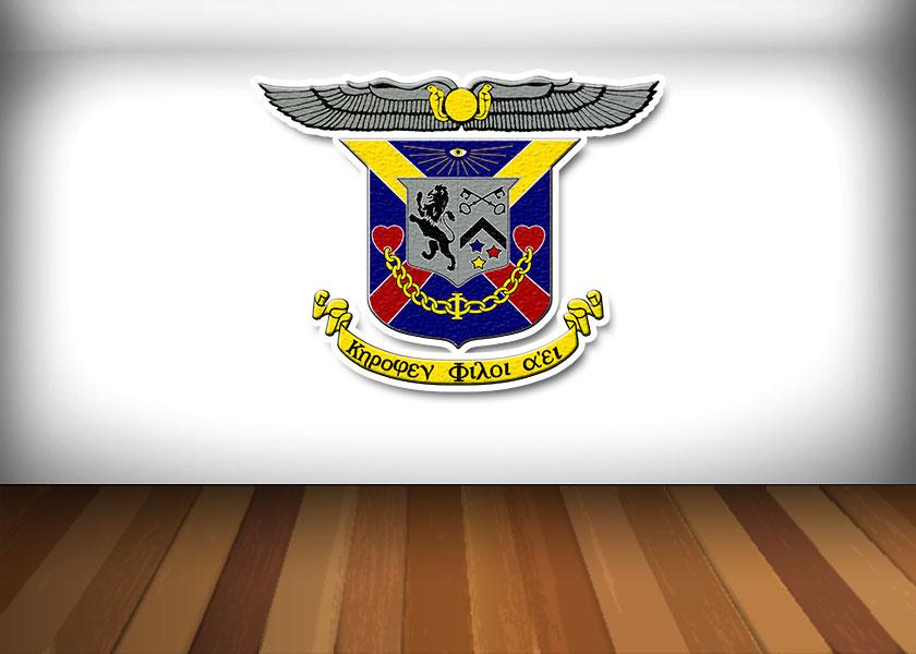 Delta Kappa Epsilon Coat of Arms