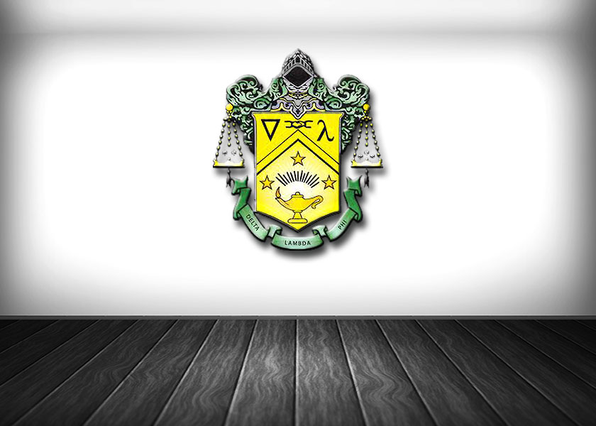 Delta Lambda Phi Coat of Arms