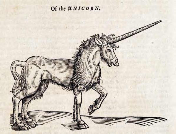 Delta Phi Epsilon Mascot - Unicorn