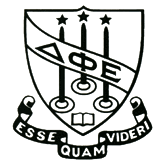 Delta Phi Epsilon Symbol - The DPhiE Crest