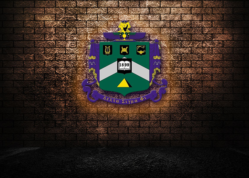 Delta Sigma Phi Coat of Arms