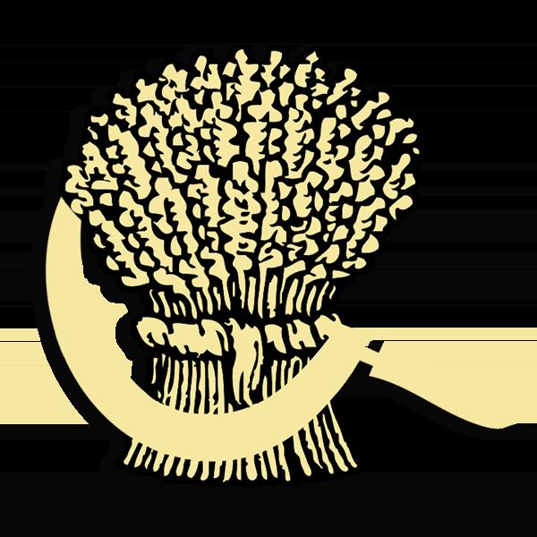 FarmHouse Fraternity Symbol - Sickle and Sheaf