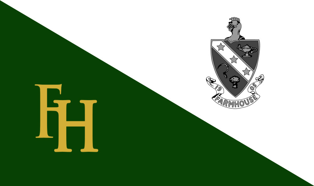 FarmHouse Fraternity Flag