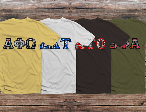 Custom Embroidered Sorority Shirts and Fraternity Shirts