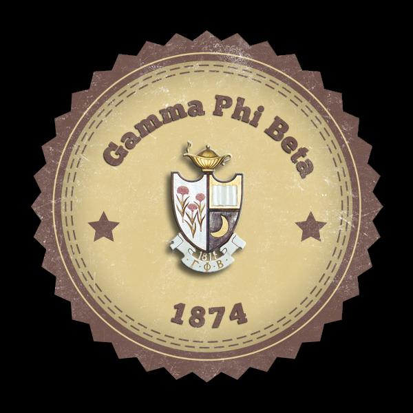 Gamma Phi Beta Seal (Mockup)