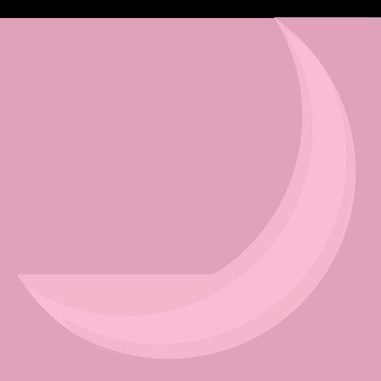 Gamma Phi Beta Symbol - Crescent Moon