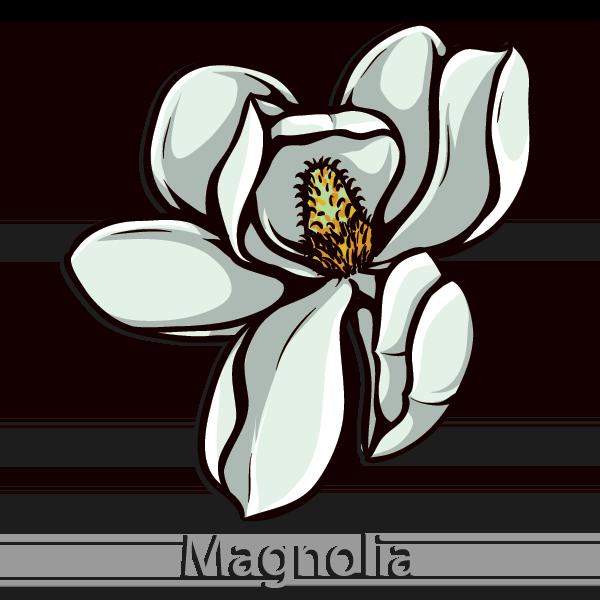 Kappa Alpha Order Flower - Magnolia