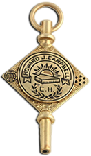 Kappa Alpha Society Key (Gold)