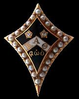Kappa Alpha Theta Badge