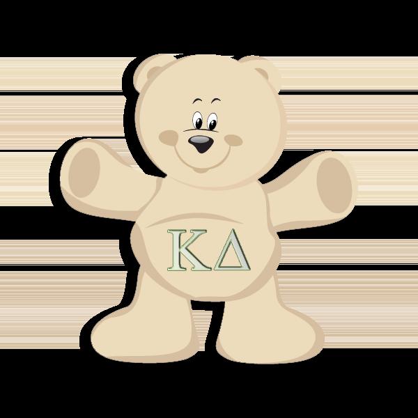 Kappa Delta Mascot - Teddy Bear
