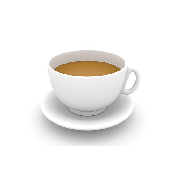 Kappa Delta Sigma Symbol - Tea Cup