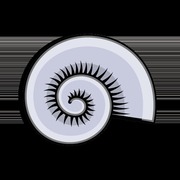 Kappa Delta Symbol - Nautilus Shell