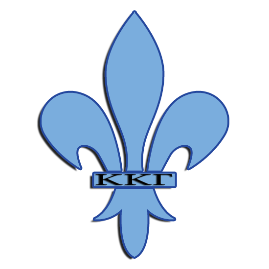 Kappa Kappa Gamma Symbol - Fleur-De-Lis