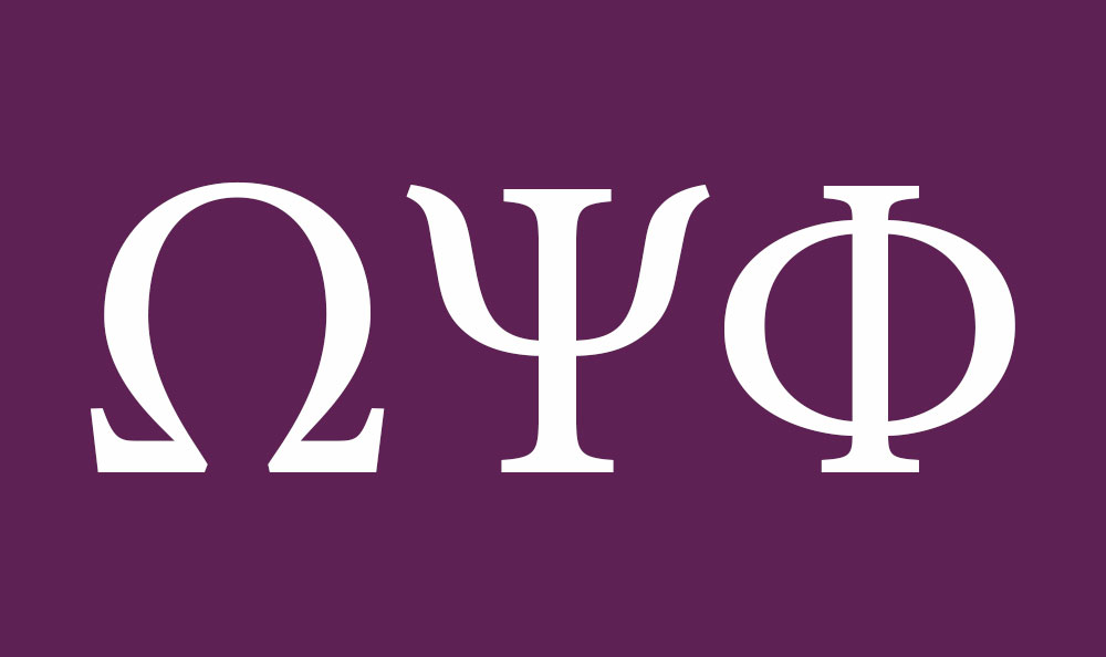 Omega Psi Phi Flag