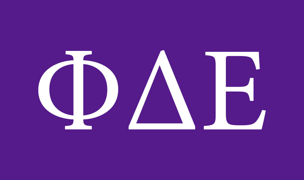Chi Phi Greek Letters Type