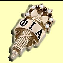 Phi Iota Alpha Badge