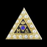 Phi Mu Delta Badge