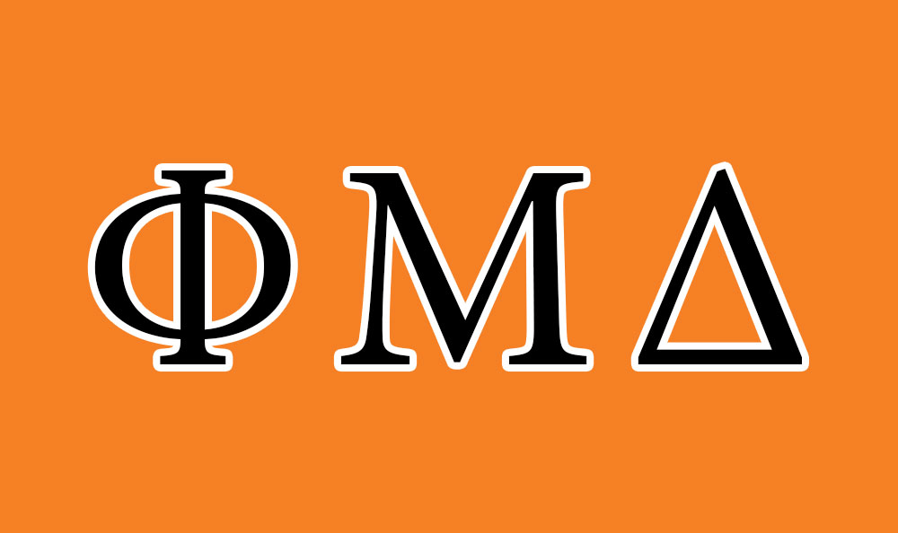 Phi Mu Delta Flag