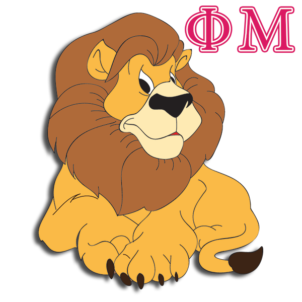 Phi Mu Mascot - Lion